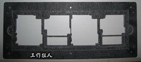 合成石過爐托盤(durostone reflow carrier)