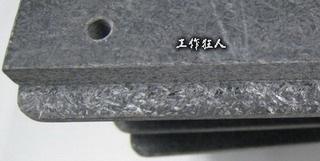 可加工性的合成石,可以用CNC洗出想要的形狀與機構,可以媲美鋁合金