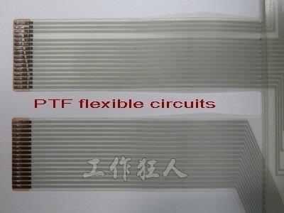 單層PTF的成型品