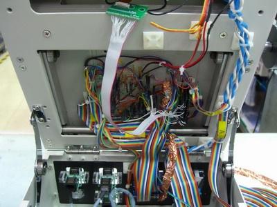 FVT功能測試治具內部的排線