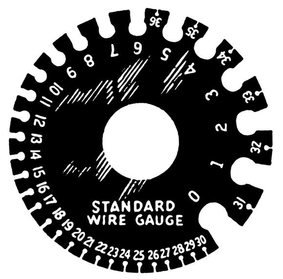 AWG尺規(圖片來自維基百科)
