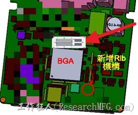 BGA錫球開裂改善方案