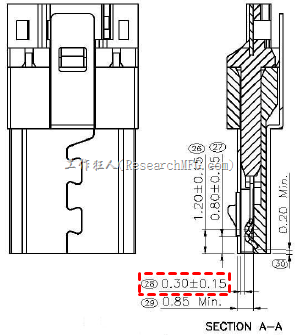 Micro-USB-spring-specification