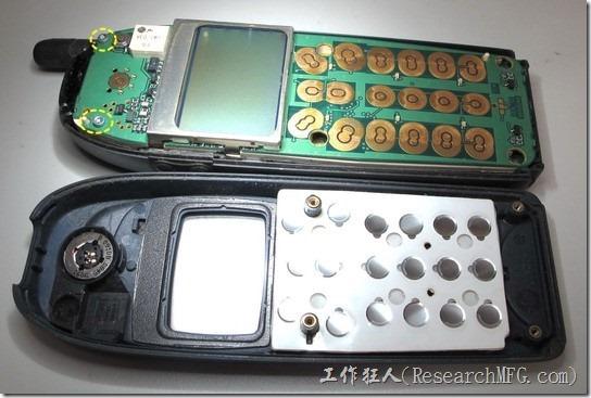 Nokia6150拆解02