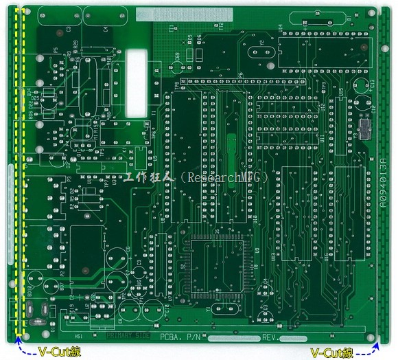 V-Cut是什麼?為何PCB上面要有V-Cut?