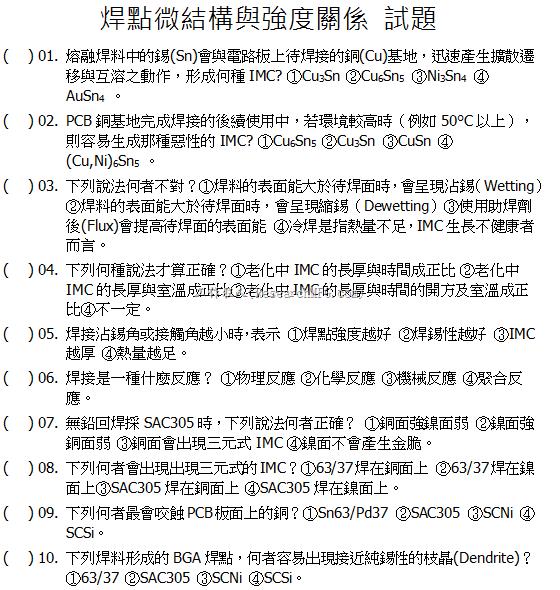 TPCA2014焊點微結構與強度關係試卷-1