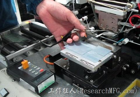 ACF-貼片機溫度測試01