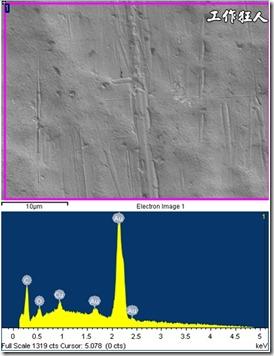 新品的鍍層SEM/ESD分析
