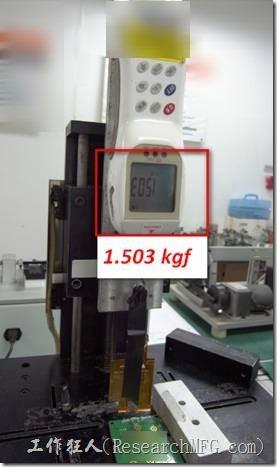 低溫錫膏HotBar拉力測試。