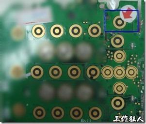 ENIG電路板上的金手指污染處