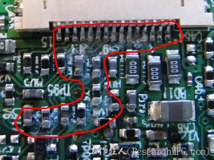 電路板疑似腐蝕氧化懷疑電流異常過熱造成