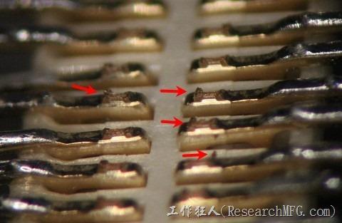 板對板連接器Terminal切斷面有毛邊