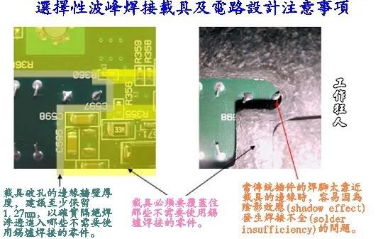 選擇性波峰焊托盤載具設計注意事項(selective wave soldering carrier requirement)