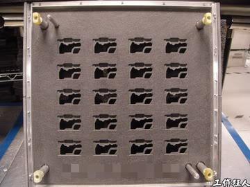 選擇性波峰焊托盤載具(selective wave soldering carrier)